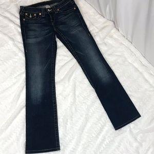 True Religion Dark Wash Bootcut Jeans 29